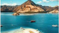 Pulau Komodo di kawasan Taman Nasional Komodo, NTT. (dok.Instagram @pulaukomodotour/https://www.instagram.com/p/BoD9yfCB0zp/Henry