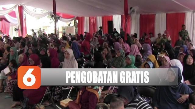 YPP SCTV-Indosiar bersama TNI AD berikan pengobatan gratis dan bahan pokok dari pemirsa SCTV dan Indosiar.
