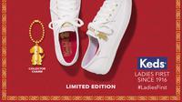 Keds meluncurkan koleksi sepatu khusus tematik hari besar-nya yang pertama untuk Imlek 2018, sudah punya? Lihat di sini. Sumber foto: MetroxGroup.