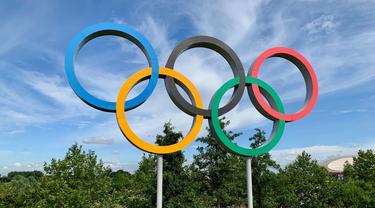 Ilustrasi logo Olimpiade