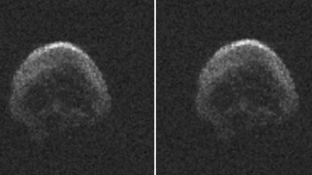 Asteroid Bentuk Tengkorak Dekati Bumi Saat Halloween