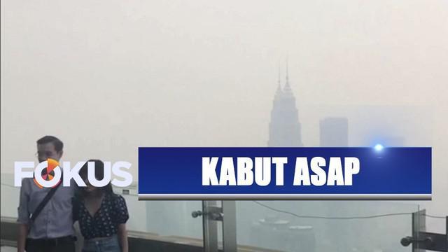 Kabut asap kembali selimuti Kuala Lumpur, pemerintah Malaysia tuding Indonesia tak serius tangani kebakaran hutan dan lahan.