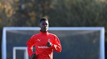 Hadapi Chelsea, Para Pemain Rennes Semangat Berlatih