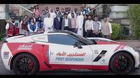 Di Dubai, supercar dijadikan armada ambulans. (Motor1)