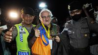 Rohaniwan mendatangi Nusakambangan jelang eksekusi mati (Liputan6.com/ Helmi Afandi)