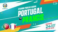 Portugal vs Prancis (liputan6.com/Abdillah)