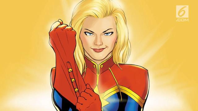 Trailer film Captain Marvel resmi dirilis dengan menampilkan Brie Larson memakai kostum Captain Marvel.