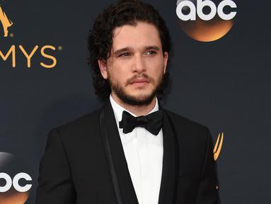 """Kit Harington merupakan salah satu aktor utama dalam serial """"Game of Thrones"""". Dia memerankan Jon Snow dalam serial yang beberapa hari lagi akan memasuki musim terakhirnya. (Sumber: AFP)"""
