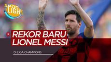 Berita video spotlight kali ini rekor apa saja yang bisa dipecahkan oleh Lionel Messi di Liga Champions musim ini.