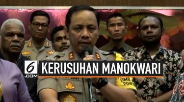 Kapolda Metro Jaya menjamin warga Papua yang ada di Jabodetabek akan aman setelah terjadinya kerusuhan di Manokwari, Papua. Kapolda juga meminta warga Papua di Jabodetabek menahan diri.