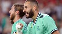 Pemain Real Madrid, Karim Benzema. (AFP/Cristina Quicler)