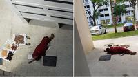 dikira bunuh diri, ternyata... (foto: mothership.sg)