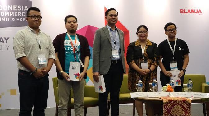 Diskusi panelmengenaichatbot di IESE 2017. Liputan6.com/Dewi Widya Ningrum