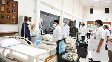 Menteri Pertahanan Prabowo Subianto Tinjau Kesiapan Pusdiklat Jemenhan dan Pusbahasa Menjadi RS Satelit RS dr.Suyoto