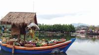 Floating Market, wisata edukasi di Bandung, Jawa Barat | Via: Dok. Bintang.com/M. Sufyan