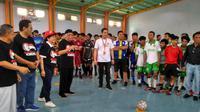 32 tim sejabodetabek mengikuti turnamen futsal bertajuk Blusukan Jokowi Milenial di Jakarta (istimewa)