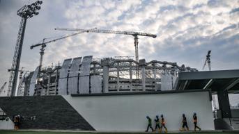 FOTO: Jakarta International Stadium Ditargetkan Rampung Desember 2021