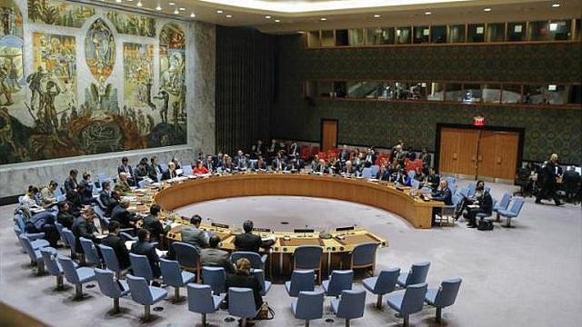 Ruang Sidang Dewan Keamanan PBB di New York (Kena Betancur / AFP PHOTO)