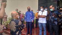 BP Batam bersama Lion Air melakukan penandatanganan addendum perjanjian kerja sama pengelolaan lahan MRO Batam Aero Technic, Rabu (14/4/2021).