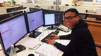 Bobby Minola Ginting, peneliti Indonesia yang bekerja di Jerman. (Foto: DW Indonesia)