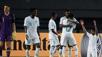 Timnas Arab Saudi U-19 berhasil menang 3-1 atas Australia di perempat final Piala AFC U-19 2018 sekaligus memastikan tiket terakhir ke Piala Dunia U-20 2019. (AFC)