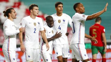 Cristiano Ronaldo Tak Berdaya, Portugal Dibungkam Prancis