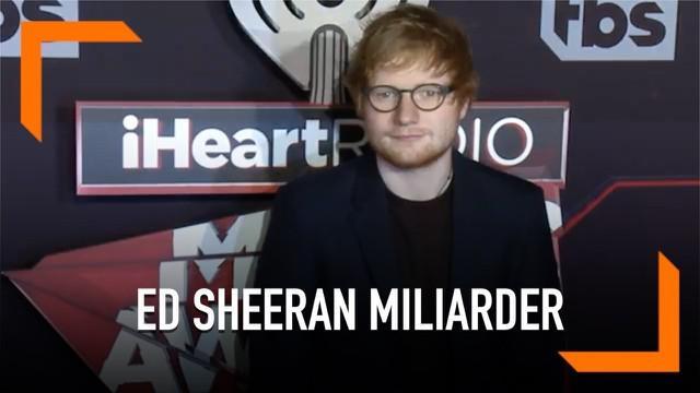 Kesuksesan tur Divide akan mengantarkan Ed Sheeran menjadi seorang miliarder sebelum berusia 30 tahun. ED dikabarkan akan melampaui rekor U2 saat menjalani rangkaian tur dunia.