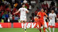 Timnas Filipina menelan kekalahan 0-3 dari China pada laga kedua Grup B Piala Asia 2019, di Mohammed bin Zayed Stadium, Abu Dhabi. Jumat (11/1/2019). (AFP/Khaled Desouki)