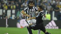 Andrea Pirlo tampak masih maksimal bermain dalam waktu lama melawan Real Madrid (OLIVIER MORIN / AFP)