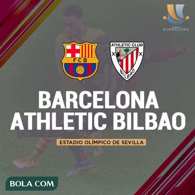 Hasil Piala Super Spanyol: Athletic Bilbao Bekuk Barcelona ...