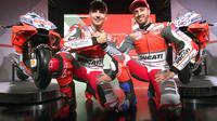 Bos Ducati, Paolo Ciabatti, memiliki keyakinan motor Desmosedici GP18 bakal membantu Jorge Lorenzo dan Andrea Dovizioso untuk bisa bersaing dalam perburuan gelar MotoGP 2018. (dok. Ducati)