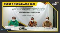 RUPST dan RUPSLB PT Adi Sarana Armada Tbk (ASSA) (Foto: Liputan6.com/Pipit Ika R)
