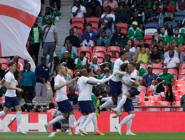Uji Coba Piala Dunia 2018, Inggris Tekuk Nigeria di Wembley