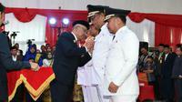 Bupati Kampar Aziz Zaenal meninggal dunia. (Liputan6.com/M Syukur)