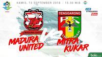 Liga 1 2018 Madura United Vs Mitra Kukar (Bola.com/Adreanus Titus)