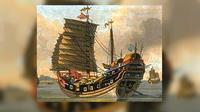 Ilustrasi kapal bajak laut (http://www.ancient-origins.net)