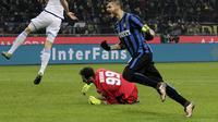 Mauro Icardi di Inter Milan vs Lazio (Reuters)