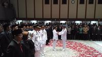 Anies Baswedan lantik sejumlah pejabat baru DKI di Balai  Kota DKI Jakarta (Delvira Hutabarat/Liputan6.com)