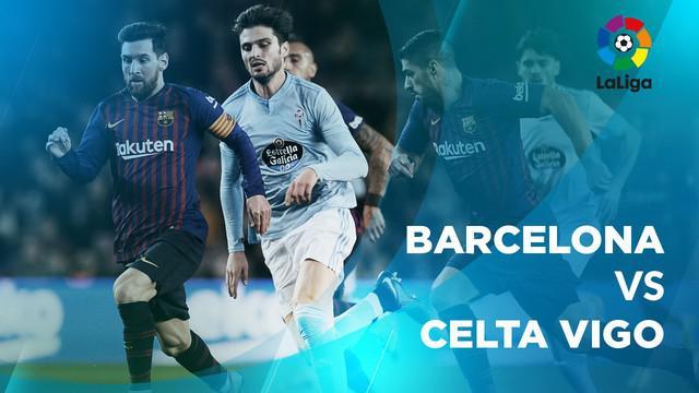 Berita video statistik Barcelona vs Celta Vigo pada laga pekan ke-17 La Liga 2018-2019, Minggu (23/12/2018).