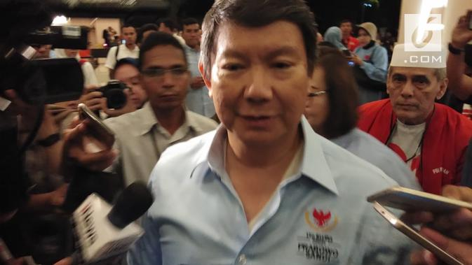 Adik Prabowo Subianto, Hashim Djojohadikusumo. (Liputan6.com/Ady Anugrahadi)
