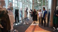 Cikini Fashion Festival (CiFFest) 2017 memberikan nafas baru bagi bibit muda desainer fashion yang diselenggarakan pada 5-6 Agustus 2017. (Liputan6.com/Akbar Muhibar)