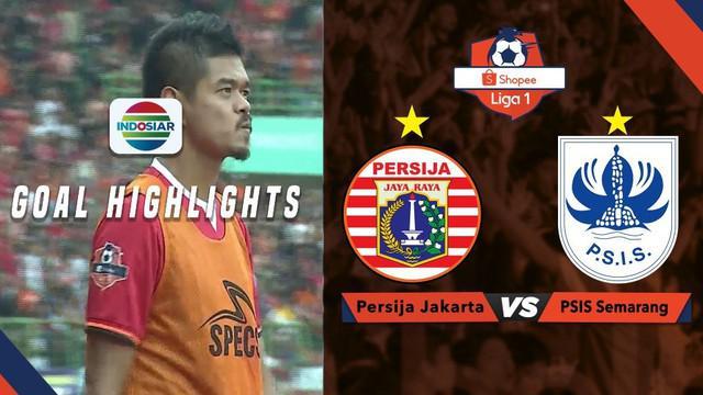Berita video momen gol-gol yang tercipta saat Persija Jakarta mengalahkan PSIS Semarang dalam lanjutan Shopee Liga 1 2019, Minggu (15/9/2019).