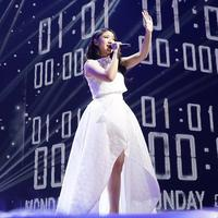 Lagu Fiersa Besari dibawakan dengan apik oleh Tiara di Spekta 6 Indonesian Idol X. (Instagram Tiara Anugrah)