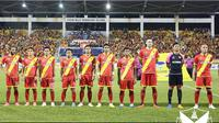 Andik Vermansah dan rekan setim di Selangor FA ditarget pelatih Zainal Abidin Hassan untuk terus menempel penguasa klasemen, Felda United dan Johor Darul Ta'zim. (Bola.com/Facebook Selangor FA)