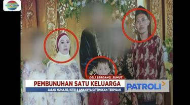 Tim Labfor cabang Medan juga memeriksa beberapa rumah saksi di sekitar rumah korban.