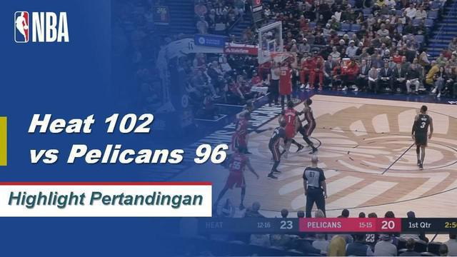 Josh Richardson mencetak 22 poin bersama 4 assist membawa Heat menang atas Pelicans