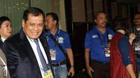 Nurdin Halid, Mantan Ketua Umum PSSI. (Bola.com/Nicklas Hanoatubun)