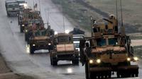 Pasukan AS di Suriah utara (AFP PHOTO)