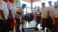 PT Bank Rakyat Indonesia (Persero) dan Masyarakat Perlindungan Indikasi Geografis (MPIG) Garam Amed Bali menggelar Festival Garam Amed di Amed, Karangasem, Bali.