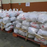 Sebagian Paket Sembako Yang Siap Didistribusikan EMTEK Peduli Corona Melalui 50 Warung Mitra Bukalapak Di Wilayah Jabodetabek. (EMTEK)